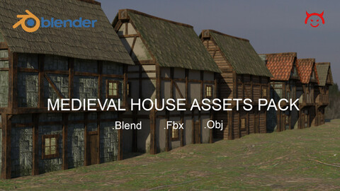 Medieval House Assets Pack