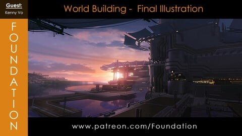 Foundation Art Group - World Building - Final Illustration with Kenny Vo