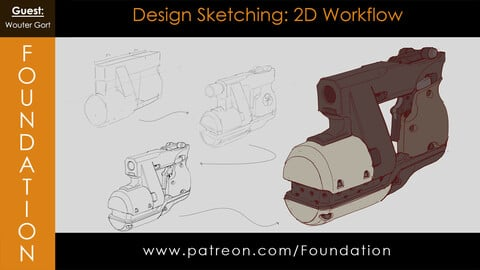 Foundation Art Group - Design Sketching: 2D Workflow with Wouter Gort