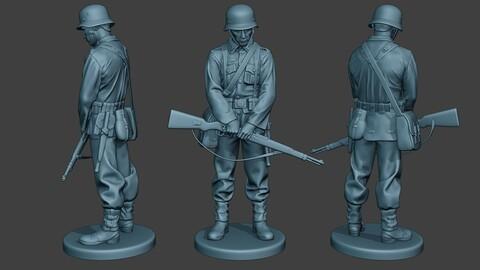 German soldier ww2 Praying2 G6