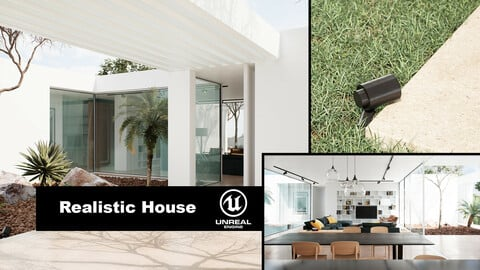 dviz - Realistic House UE4 Archviz Project