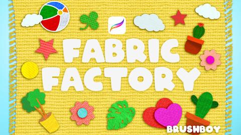 Procreate Fabric Texture Brushes