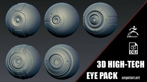 3D HIGH-TECH EYE PACK (FREE)