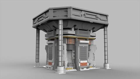 Sci Fi Modular Environment 12
