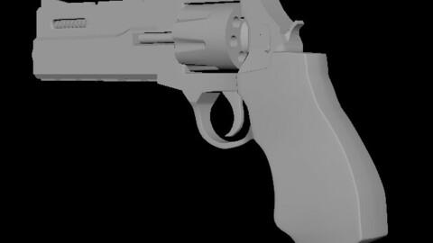 Revolver Pistol