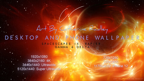 IX-Rapier: Gamma 6 Delta Wallpaper