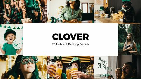 20 Clover LUTs and Lightroom Presets