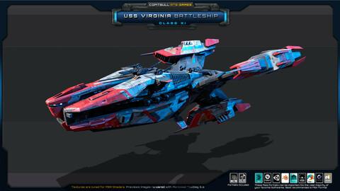 NEXTGEN - USS Virginia BattleShip