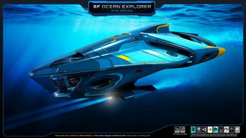SciFi - Ocean Explorer