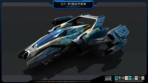SF Fighter - Plug and Fly