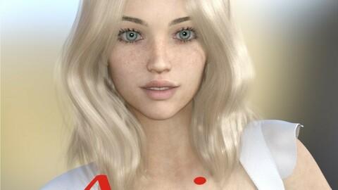 Aria for Genesis 8 Female