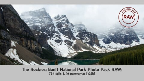 The Rockies: Banff National Park Photo Pack RAW