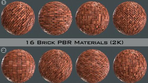 Brick Real PBR Material