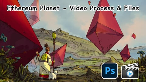 Ethereum Planet (Video Process & Files)