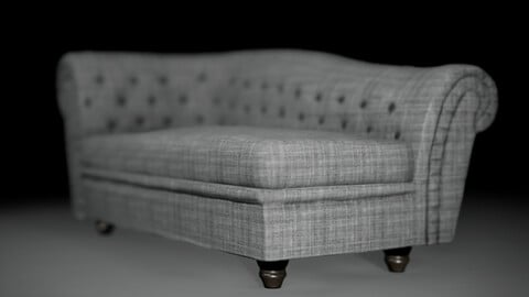 Sofa Button (Game Ready Model)