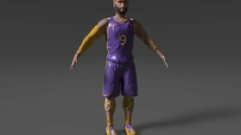 Basketball Player (Game Ready Character)