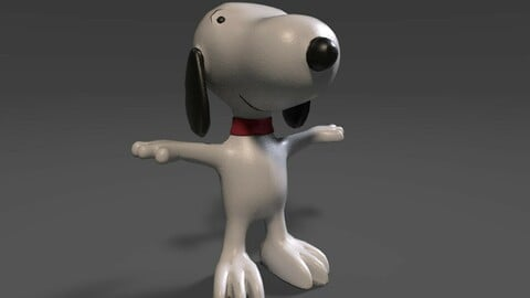 Snoopy (Game Ready Character)