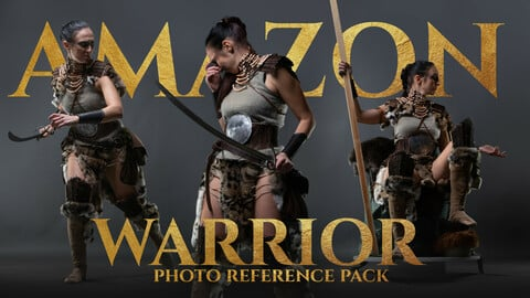 Amazon Warrior vol.2 Photo reference pack for artists 700+ JPEGs