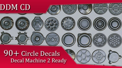 Ddm Cd (Circle Decals)| Decal Machine 2 Ready Pack