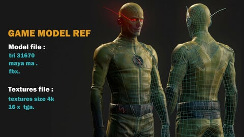 3D game Model reference
