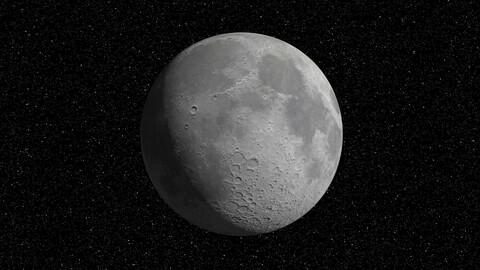 Moon 16K HDRI
