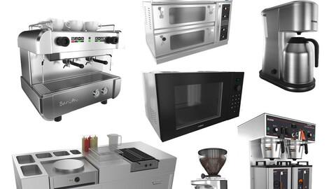 Pack Kitchen Coffeeshop Kiosk Appliance Equipment