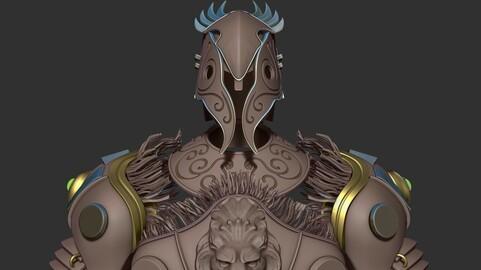 Fantasy Armor in FBX format