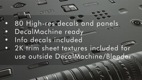 Tech Essentials Decal / Trim Sheet Pack