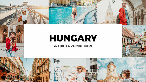 20 Hungary LUTs and Lightroom Presets