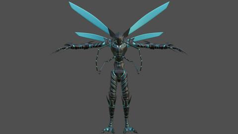 3D modeling beru(T Pose)- Solo Leveling