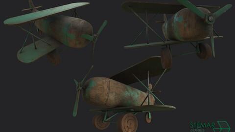 Vintage Plane Model
