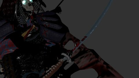 The Dead General Optimized Character Rig
