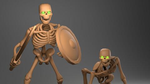 Stylized Skeleton Basemesh