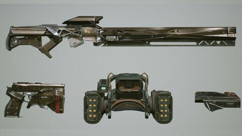 Weapons Kit  UE4
