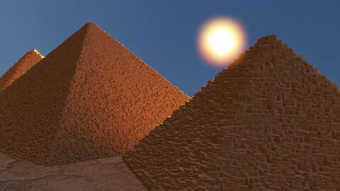 Ancient Pyramids 3D model