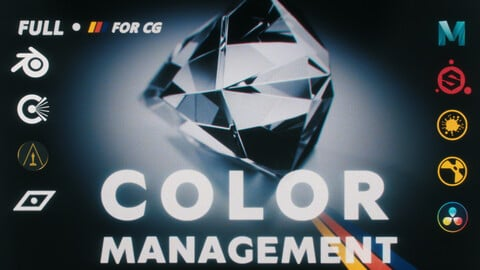 Full Color Management for CG