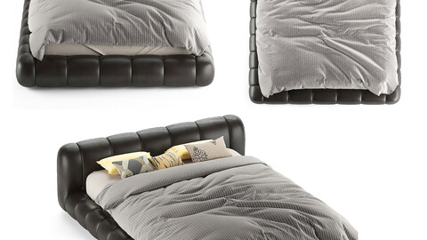 bed modern leather B1