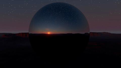 Mesa Twilight HDRI
