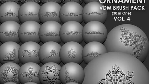 Ornament VDM Brush Pack Vol4 30 in One