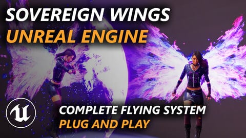 Sovereign Wings - Unreal Engine flying system