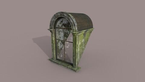 Eski Mimari Çatı Penceresi Tasarım ve Modelleme | Old Architecture Roof Window Design and Modeling