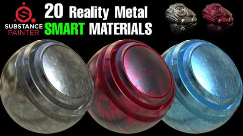 🌟20 Reality Metal Smart Material🌟