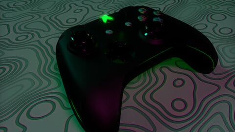 Xbox Controller (with cinematic)