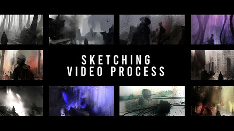 Sketching video process