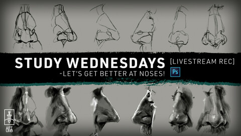 MAR-17 LiveStream: Let's Study Noses - with art.uro