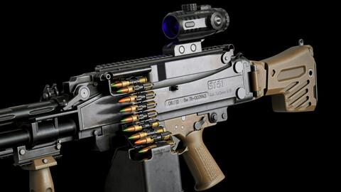 PMS STAL-51 Machine Gun