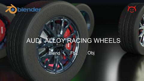 Audi Alloy Racing Wheels