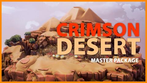 Crimson Desert Master Package - UE4 & Unity