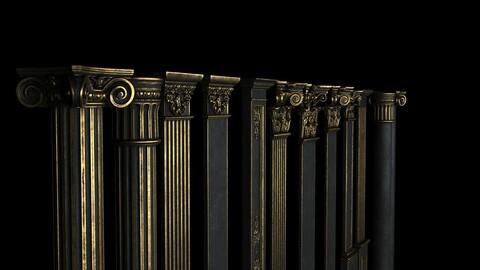 12 Classical Columns