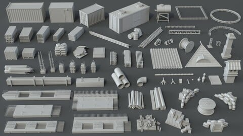 Construction Pack- 66 pieces
